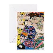 iPad Klimt V Greeting Card