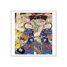 "FF Klimt V2 Square Sticker 3"" x 3"""