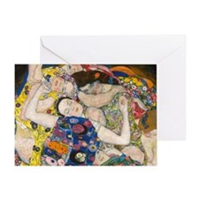 Laptop Klimt V Greeting Card