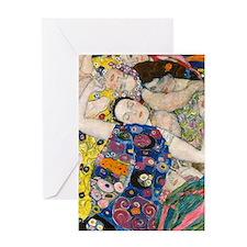 K/N Klimt V Greeting Card