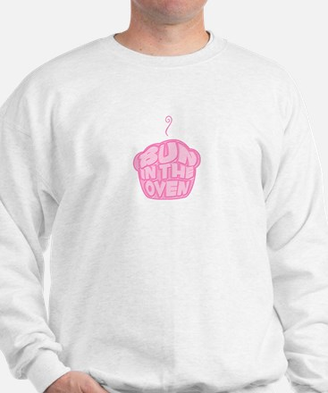 Bun In The Oven Pink Sweatshirt
