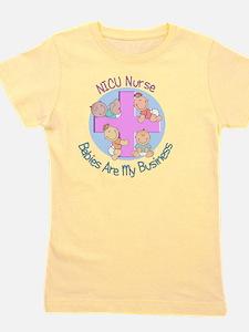 NICU Nurse 2012 4 babies Girl's Tee