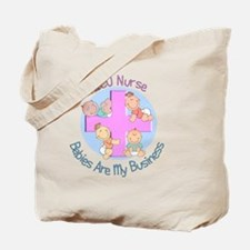 NICU Nurse 2012 4 babies Tote Bag
