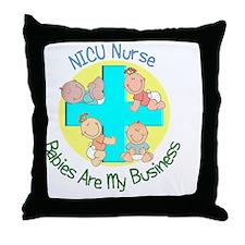 NICU Nurse Throw Pillow