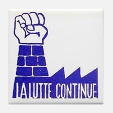 ART Paris 68 Continue Tile Coaster