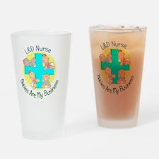 LD Nurse Drinking Glass