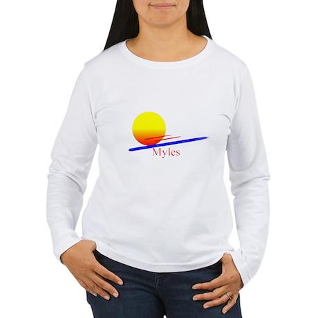 Myles Women's Long Sleeve T-Shirt