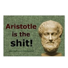Aristotle Is The Shit Postcards (Package of 8)