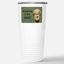Aristotle Is The Shit Travel Mug