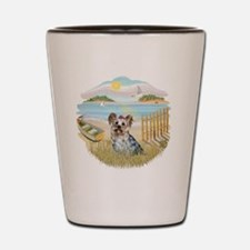 Rowboat - Yorkie 13 Shot Glass
