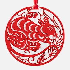 ChineseZodiacRatB Ornament