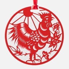ChineseZodiacRoosterB Ornament