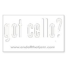 cello Decal