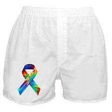 tiedye-justribbon Boxer Shorts