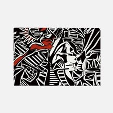 Annunciation Rectangle Magnet