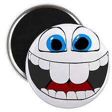 Smilie1-HappyNoFace Magnet