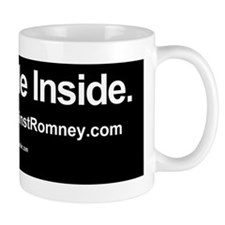 Dogs Against Romney bumber-yorkie-I rid Small Mug