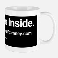 Dogs Against Romney bumber-yorkie-I rid Small Small Mug