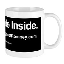 Dogs Against Romney bumber-rusty-I ride Small Mug