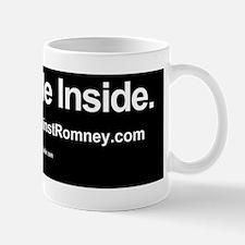 Dogs Against Romney bumber-lab-I ride i Mug