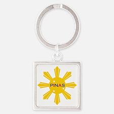 Pinas Square Keychain