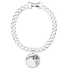 Gamer girl grunge Charm Bracelet, One Charm