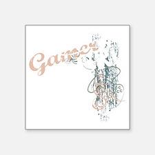 "Gamer girl grunge_dk Square Sticker 3"" x 3"""