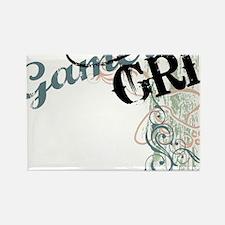 Gamer girl grunge Rectangle Magnet
