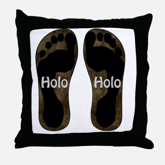 Holo Holo Throw Pillow