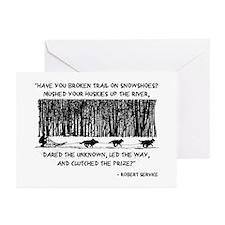 Mushed Your Huskies Poem Greeting Cards (Pk of 10)