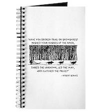 Mushed Your Huskies Poem Journal