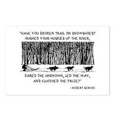 Mushed Your Huskies Poem Postcards (Package of 8)