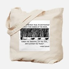 Mushed Your Huskies Poem Tote Bag