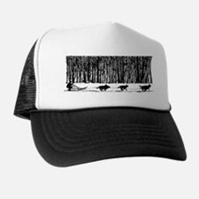 Mushed Your Huskies Poem Trucker Hat