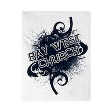BAY WEST CHURCH - back-more glow Twin Duvet