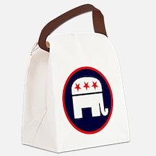 REPUBLICAN 2012 Canvas Lunch Bag
