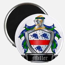 MILLER COAT OF ARMS FAMILY CREST Magnet
