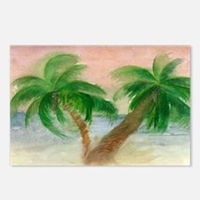 Twin Palms Postcards (Package of 8)