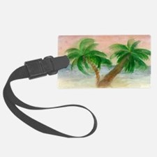 Twin Palms Luggage Tag