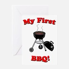 bbq Greeting Card