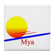Mya Tile Coaster