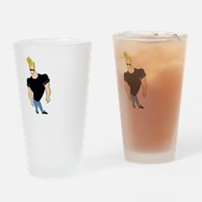 Johnny bravo 1 light Drinking Glass