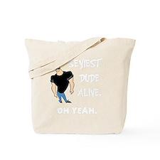 Johnny bravo 1 light Tote Bag