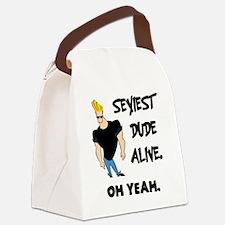 Johnny bravo 1 Canvas Lunch Bag