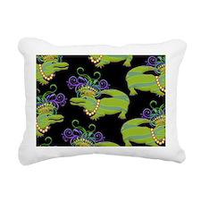 MGRoyaltyGpbkLaptp Rectangular Canvas Pillow
