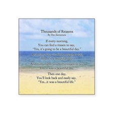 "keepsake box thousad Square Sticker 3"" x 3"""