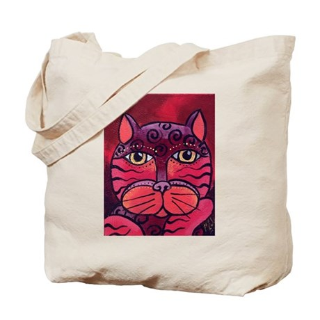 Melon the pink Cat Tote Bag