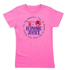 ECONOMIC JUSTICE.gif Girl's Tee
