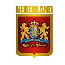 Nederland Gold Postcards (Package of 8)