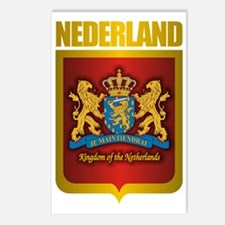 Nederland Gold Postcards (Package of 8)